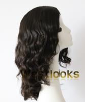 Long Big Layer Unprocessed Mongolian Hair Wavy Stock Kosher Jewish Wigs