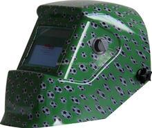 Football graphic welding helmet with EN175