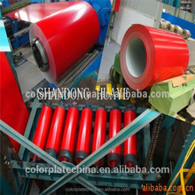 secondary quality ppgi prepainted galvanized steel coil