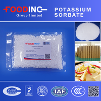 potassium sorbate sodium benzoate food additive fcc iv