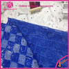 2015 Royal Blue Guipure Lace Fabric African Cord Lace Nigerian African Guipure Lace Fabric