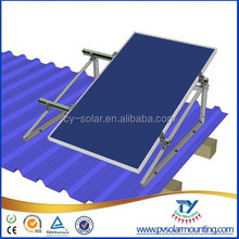 PV solar flat roof mounting system 3KW photovoltaic panel mounting systems for flat roof solar racking system