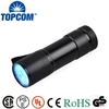 Mini 9 LED UV Torch Shock Proof And Water Resistance UV LED Torch