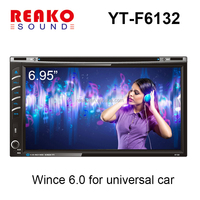 YT-F6132 Car Audio GPS DVD for Mitsubishi with bluetooth,steering wheel control,radio,stereo