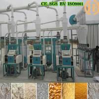 20T china factory maize mill machine maize flour