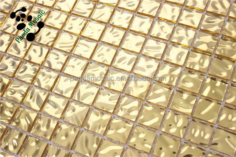 Mb smg11 villa dekor fliese nachahmung blattgold glas mosaik ...