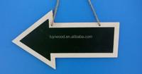 2015 best seller wooden crafts arrow shape road sign wooden sign board wholesaler