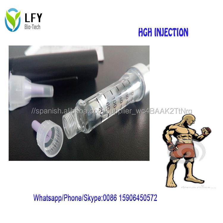 Complementa la terapia de hormona de crecimiento de inyección de HGH humana farmacéutica