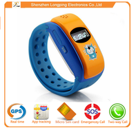 latest cheapest kids gps wrist watch mobile phone
