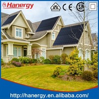 Hanergy 5k solar adjustable roof mounting system for home use on pitched roof