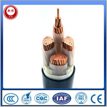 electric cable three phase construction power cable