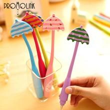 alibaba wholesale unique umbrella shape soft bend portable student ball pen