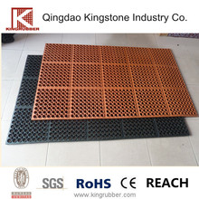 oil resistant cheap rubber flooring