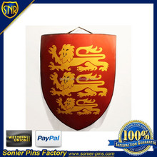 Middle Ages,Hobbits shield/pretext, club/home wall decoration, can be made of iron and brass/bronze