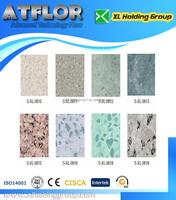 composite structure homogeneous PVC flooring