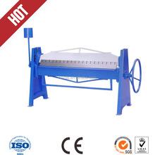 S-1.2*2500 manual sheet metal bending folding machine