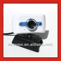 Led toy USB 2.0 super mini webcam,built-in microphone white color M111