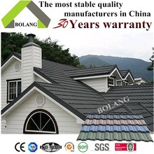 zinc roof tiles light building material sheet metal roofing stone roof tile Nosen type