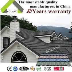 zinc roof tiles light building material sheet metal roofing stone roof tile Nosen type