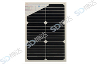 18W high efficiency flexible solar panel for asphalt shingle roof
