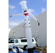2015 Hot sale 6M height wholesale used inflatable advertising air dancer
