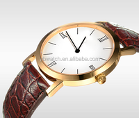 2015 new products 3atm waterproof clear face wrist watch