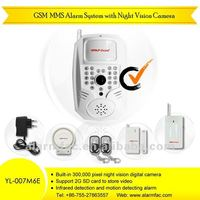 Wireless GSM MMS Home Security Alarm