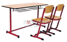 Wooden Combo Single School Desk and Chair,Wooden Comobo Single Desk and Chair