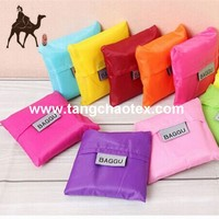 eco handbags from recycled plastic bottle fabric/RPET taffeta fabric