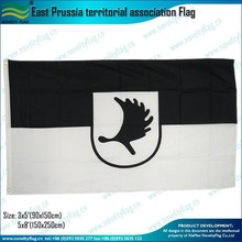 3x5ft 100D polyester East Prussia territorial association Flag