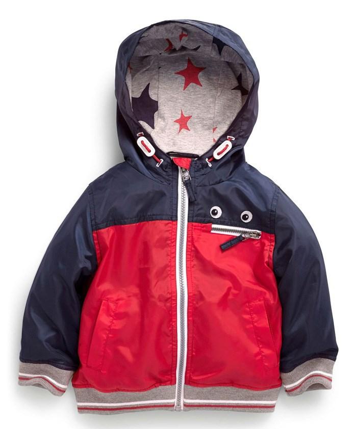 Весна осень 2015 детей спортивный досуг с капюшоном куртки ветрозащитный пальто, пригодный для мальчиков 3-8 лет