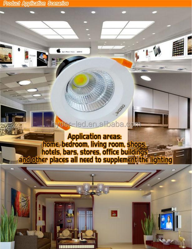 2014 Factory Price 5W 7W 9W 12W 15W 20W COB LED Down Light