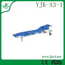 YJK-A3-1 army ambulance cot folded stretcher for sale