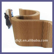 pantalla plegable de papel divisor de muebles de cartón para dk1101006