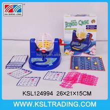 Juguete máquina de la lotería / bingo jaula / bingo máquina de juego para los niños
