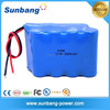 Hot sell SUNB approved 18650 3000mah 14.4v li-ion battery pack for power tool