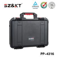 IP67 injection mold gun case with pre-cut foam