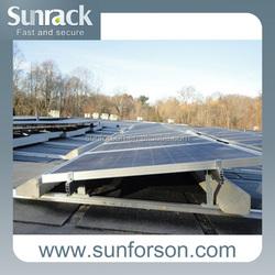 Wholesale Solar Thin Film Panels Mount Solar Frameless Panel Rack Quick Installing