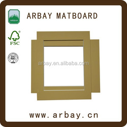 fashion uncut acid free matboard wholesale custom poster frame