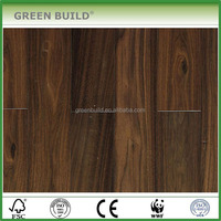 high grading UV oiled Black walnut Engineered wooden floor