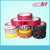 Japanese washi masking tape wholesale for cards decoration