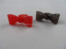 Dot colors resin plastic adjustable rings flexile acrylic leopard-print jewelries