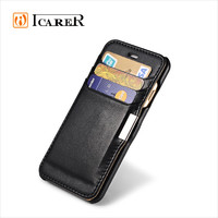 Real Leather Mobile Phone Case For iPhone 6 With Card Holder