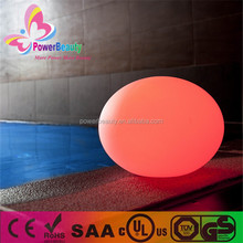 New design LED illuminate light LED color changing ball with solar light