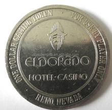 casino Coin Pocket Token metal