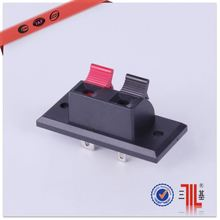2pin push button terminal jack type terminal
