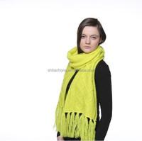 winter fashion crochet knit scarf