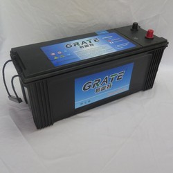 lead acid auto batteries made in china 115g51N120mf 12v 120ah heavy duty truck batteries 12v