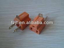U01 orange male and female 3 phase plugs and sockets
