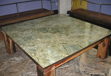 Seattle Green Marble Table Top Green Marble Desktop slab tile